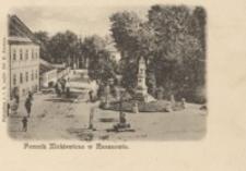 Pomnik Mickiewicza w Rzeszowie [Pocztówka]