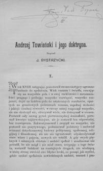 Andrzej Towiański i jego doktryna