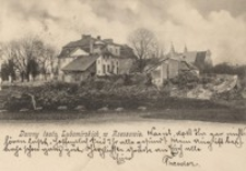 Dawny teatr Lubomirskich w Rzeszowie [Pocztówka]