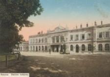 Rzeszów. Dworzec kolejowy [Pocztówka]