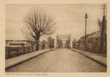Rzeszów. Most oraz koszary 20 pułku ułanów [Pocztówka]