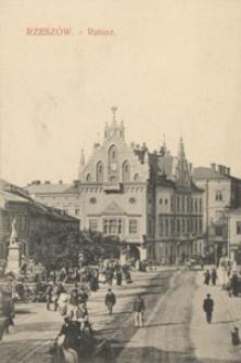 Rzeszów - Ratusz [Pocztówka]