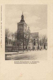 Kościół Bernardynów w Rzeszowie. Bernardiner-Kirche in Rzeszów [Pocztówka]