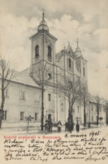 Kościół popijarski w Rzeszowie [Pocztówka]