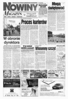 Nowiny : gazeta codzienna. 1999, nr 84-104 (maj)