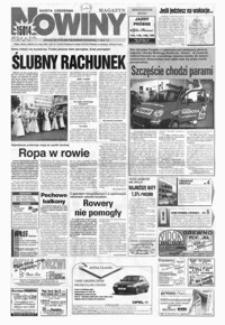 Nowiny : gazeta codzienna. 1999, nr 126-147 (lipiec)