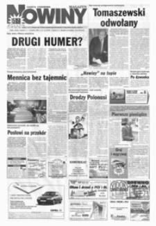 Nowiny : gazeta codzienna. 1999, nr 170-191 (wrzesień)