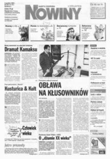 Nowiny : gazeta codzienna. 1999, nr 233-255 (grudzień / styczeń)