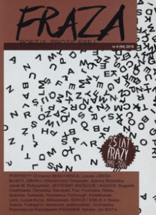 Fraza : poezja, proza, esej. 2016, R. 25, nr 94
