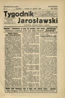 Tygodnik Jarosławski : poświęcony sprawom miasta i powiatu. 1929, R. 26, nr 2 (styczeń)