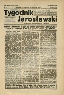 Tygodnik Jarosławski : poświęcony sprawom miasta i powiatu. 1929, R. 26, nr 3 (styczeń)