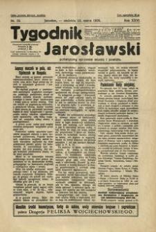 Tygodnik Jarosławski : poświęcony sprawom miasta i powiatu. 1929, R. 26, nr 10 (marzec)