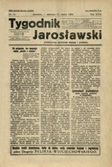 Tygodnik Jarosławski : poświęcony sprawom miasta i powiatu. 1929, R. 26, nr 11 (marzec)