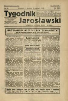 Tygodnik Jarosławski : poświęcony sprawom miasta i powiatu. 1929, R. 26, nr 25 (czerwiec)