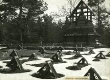 [Przełęcz Małastowska. Cmentarz wojenny nr 60 z okresu I wojny światowej] [Fotografia]