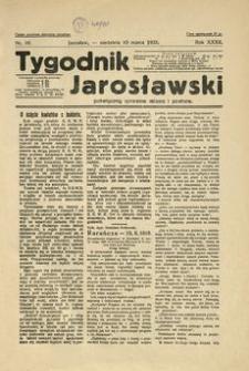 Tygodnik Jarosławski : poświęcony sprawom miasta i powiatu. 1935, R. 32, nr 10 (marzec)