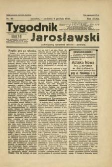 Tygodnik Jarosławski : poświęcony sprawom miasta i powiatu. 1935, R. 32, nr 49 (grudzień)