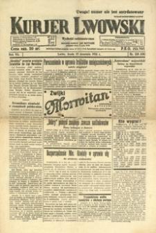 Kurjer Lwowski. 1934, R. 7, nr 258 (19 września)