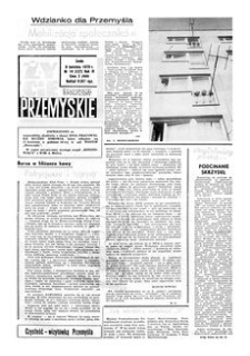Życie Przemyskie : tygodnik społeczny. 1970, R. 4, nr 14 (127) (8 kwietnia)