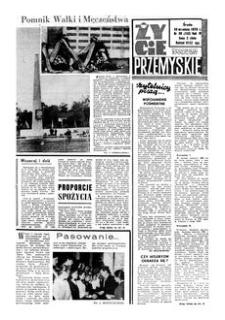 Życie Przemyskie : tygodnik społeczny. 1970, R. 4, nr 39 (152) (30 września)