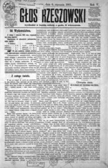 Głos Rzeszowski. 1901, R. 5, nr 1-52