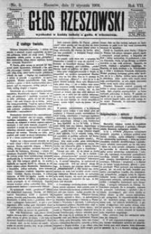 Głos Rzeszowski. 1903, R. 7, nr 1-52