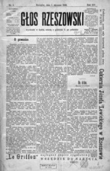 Głos Rzeszowski. 1910, R. 14, nr 1-52
