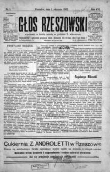 Głos Rzeszowski. 1912, R. 16, nr 1-53