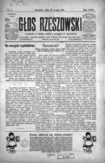 Głos Rzeszowski. 1914, R. 18, nr 1-29