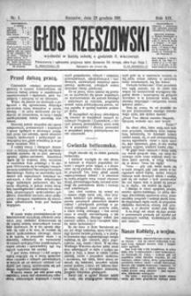 Głos Rzeszowski. 1915, R. 19, nr 1