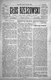 Głos Rzeszowski. 1917, R. 20, nr 1-52