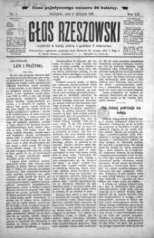 Głos Rzeszowski. 1918, R. 21, nr 1-7, 9-31, 33-52