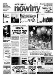 Nowiny : gazeta codzienna. 2000, nr 252 (29 grudnia 2000-1 stycznia 2001)