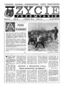 Życie Przemyskie : tygodnik Polskiej Zjednoczonej Partii Robotniczej. 1981, R. 15, nr 48 (735) (9 grudnia)