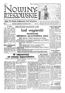 Nowiny Rzeszowskie : organ KW Polskiej Zjednoczonej Partii Robotniczej. 1949, R. 1, nr 11 (25 września)