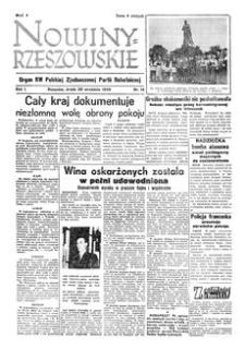 Nowiny Rzeszowskie : organ KW Polskiej Zjednoczonej Partii Robotniczej. 1949, R. 1, nr 14 (28 września)