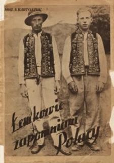 Łemkowie - zapomniani Polacy