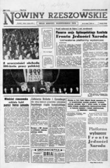 Nowiny Rzeszowskie : organ KW Polskiej Zjednoczonej Partii Robotniczej. 1961, nr 51-77 (marzec)