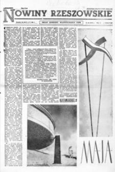 Nowiny Rzeszowskie : organ KW Polskiej Zjednoczonej Partii Robotniczej. 1961, nr 101, 103-127 (maj)