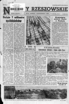 Nowiny Rzeszowskie : organ KW Polskiej Zjednoczonej Partii Robotniczej. 1961, nr 154-179 (lipiec)