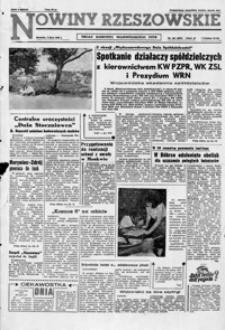 Nowiny Rzeszowskie : organ KW Polskiej Zjednoczonej Partii Robotniczej. 1962, nr 154-169, 171-180 (lipiec)