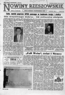 Nowiny Rzeszowskie : organ KW Polskiej Zjednoczonej Partii Robotniczej. 1962, nr 208-232 (wrzesień)