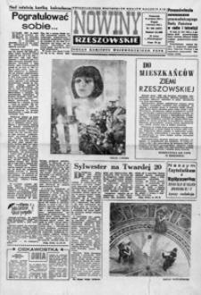 Nowiny Rzeszowskie : organ KW Polskiej Zjednoczonej Partii Robotniczej. 1965, nr 309, 1-25 (styczeń)