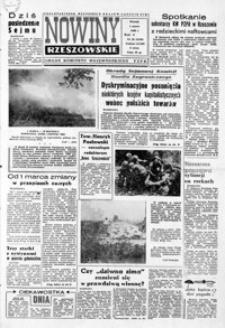 Nowiny Rzeszowskie : organ KW Polskiej Zjednoczonej Partii Robotniczej. 1966, nr 50-76 (marzec)