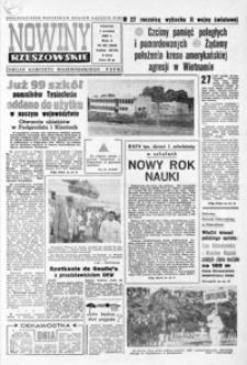 Nowiny Rzeszowskie : organ KW Polskiej Zjednoczonej Partii Robotniczej. 1966, nr 207-232 (wrzesień)