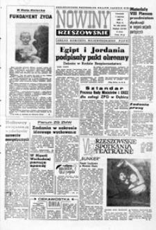 Nowiny Rzeszowskie : organ KW Polskiej Zjednoczonej Partii Robotniczej. 1967, nr 129-154 (czerwiec)