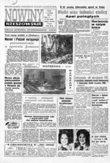 Nowiny Rzeszowskie : organ KW Polskiej Zjednoczonej Partii Robotniczej. 1967, nr 208-233 (wrzesień)