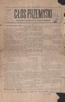 Głos Przemyski : pismo poświęcone sprawom społecznym, politycznym i ekonomicznym. 1903, R. 5, nr 14