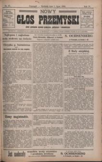 Nowy Głos Przemyski : pismo poświęcone sprawom społecznym, politycznym i ekonomicznym. 1906, R. 4, nr 27-31 (lipiec)
