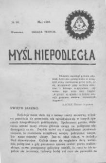Myśl Niepodległa 1909 nr 99